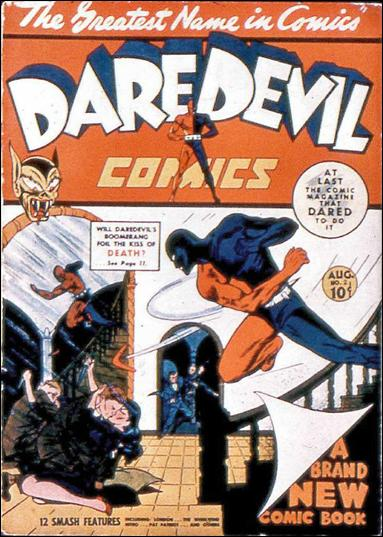 Daredevil (1941) 2-A by Lev Gleason Productions