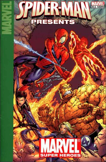 Target Spider-Man Presents Marvel Super Heroes 1-A by Marvel