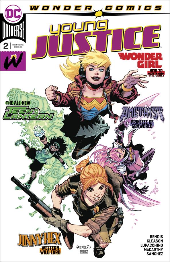 Young Justice (2019) 2-A by Wonder Comics
