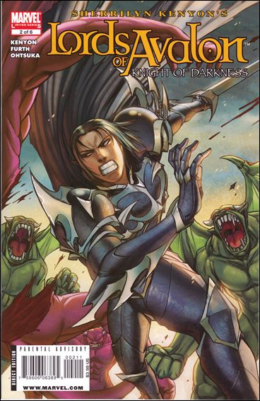 Lords of Avalon: Knight of Darkness 2-A by Marvel
