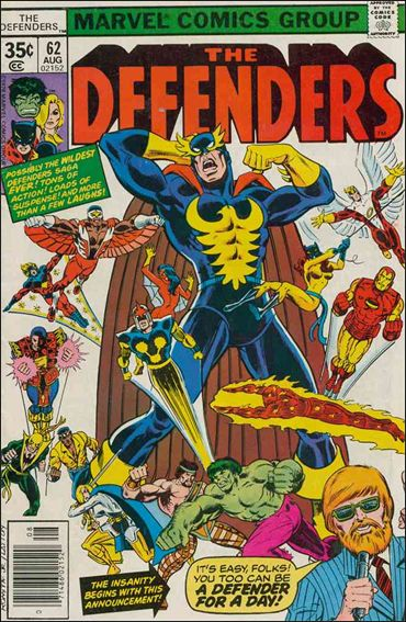 Defenders (1972) 62-A by Marvel