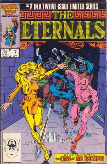 Eternals (1985) 7-A by Marvel