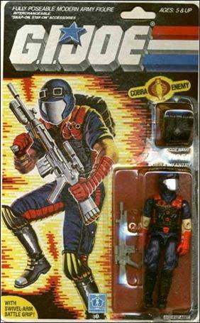 "G.I. Joe: A Real American Hero 3 3/4"" Basic Action Figures Viper (Cobra Infantry)"