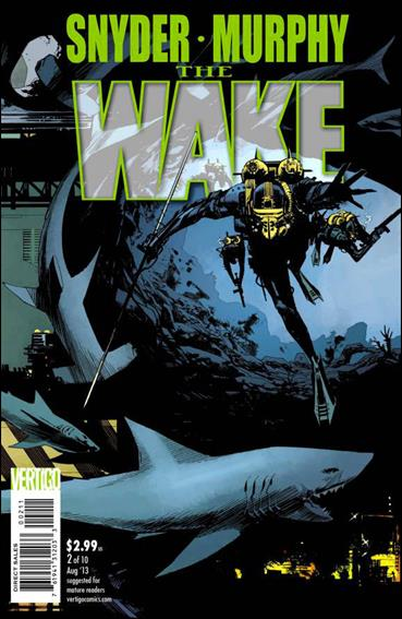 Wake (2013) 2-A by Vertigo