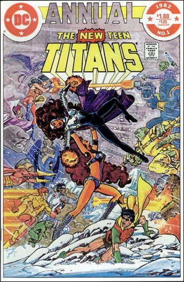 New Teen Titans Annual 1-A by DC