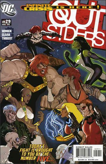 Outsiders (2003) 29-A by DC