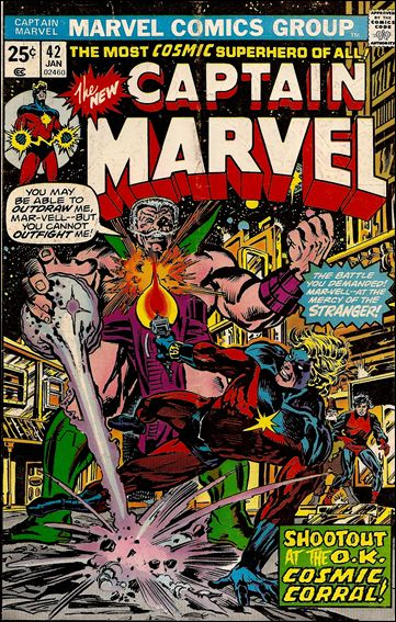 Captain Marvel (1968) 42-A by Marvel