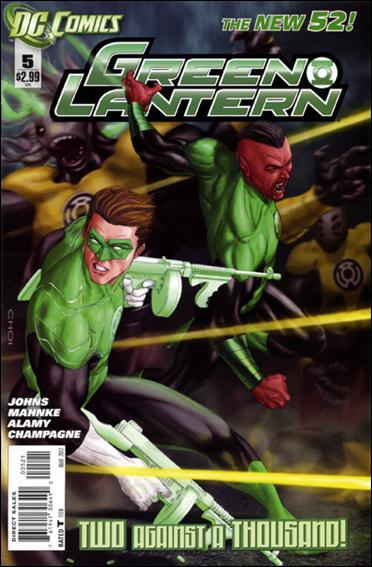 Green Lantern (2011) 5-B by DC