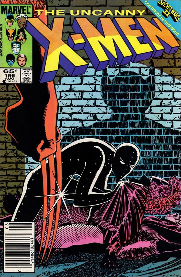 Uncanny X-Men (1981) 196-A by Marvel