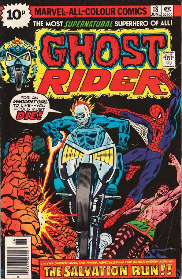 Ghost Rider (1973) 18-C by Marvel