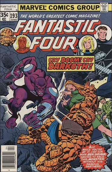 Fantastic Four (1961) 193-A by Marvel