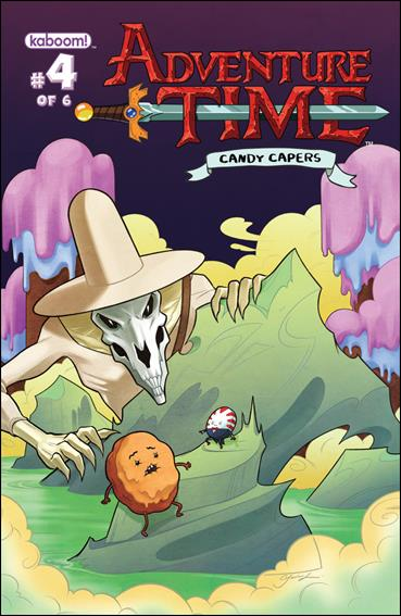Adventure Time: Candy Capers 4-B by Kaboom!
