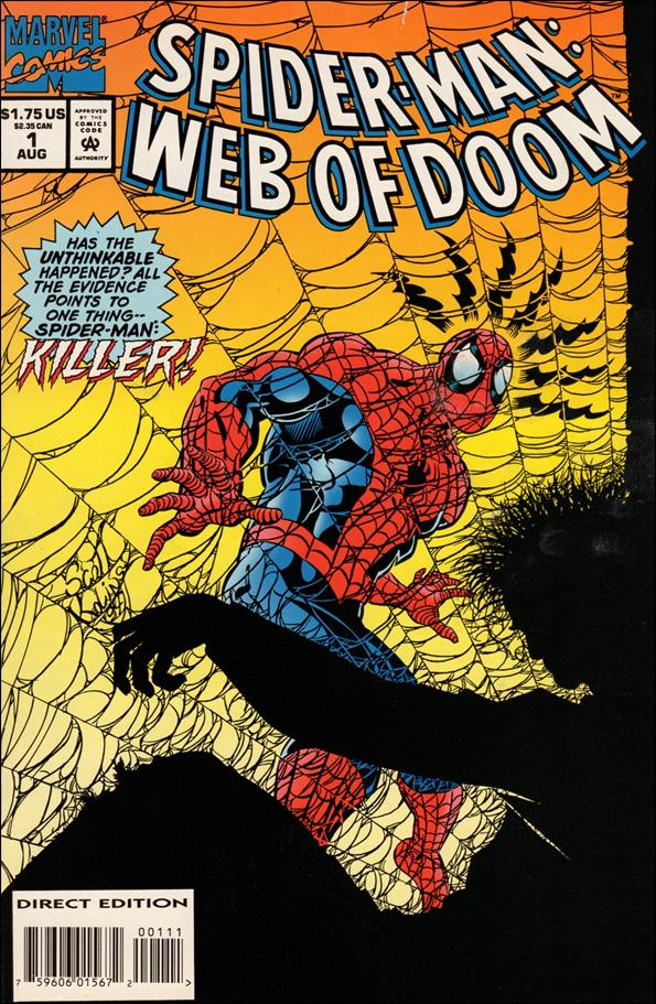 Spider-Man: Web of Doom 1-A by Marvel