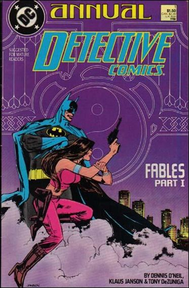 Detective Comics Annual (1988) 1-A by DC