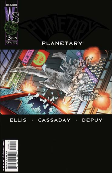 Planetary 3-A by WildStorm