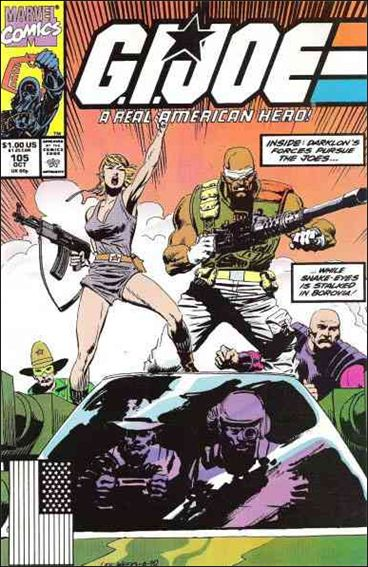 G.I. Joe: A Real American Hero 105-A by IDW