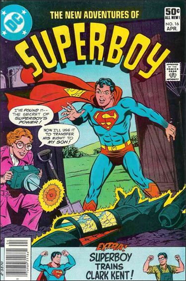 New Adventures of Superboy 16-A by DC