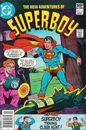 New Adventures of Superboy 16-A