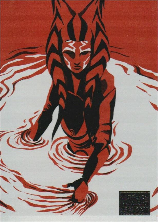 Star Wars Galaxy 2018 (Journey of Ahsoka Subset) 4 of 10-A by Topps