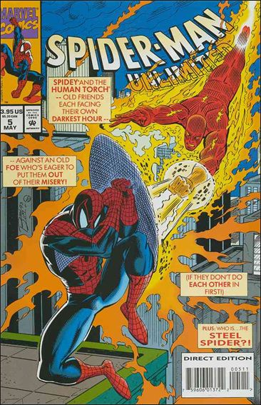 Spider-Man Unlimited (1993) 5-A by Marvel