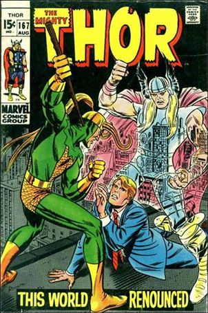 Thor (1966) 167-A