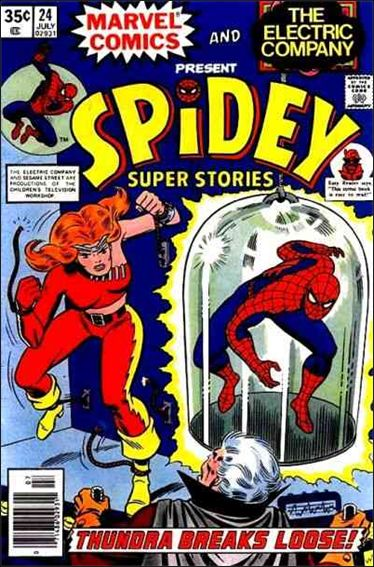 Spidey Super Stories 24-A by Marvel