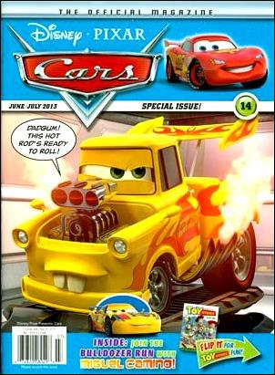 Disney/Pixar Cars Magazine 14-A by Disney