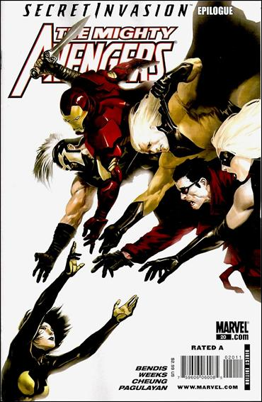 Mighty Avengers (2007) 20-A by Marvel