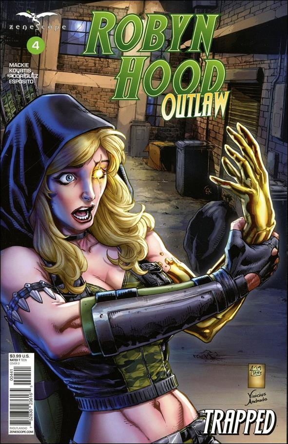 Robyn Hood: Outlaw 4-D by Zenescope Entertainment