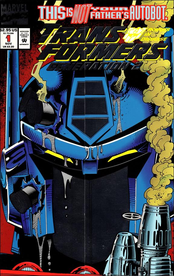 Transformers: Generation 2 (1993) 1-A by Marvel