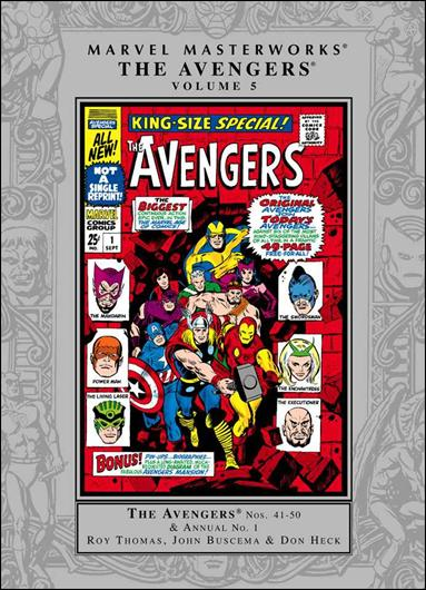 Marvel Masterworks: The Avengers 5-A by Marvel