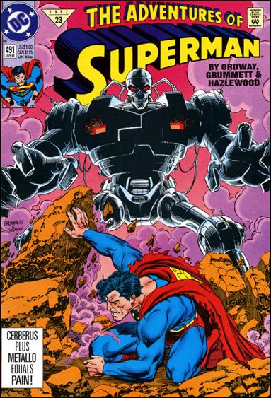 Adventures of Superman (1987) 491-A by DC