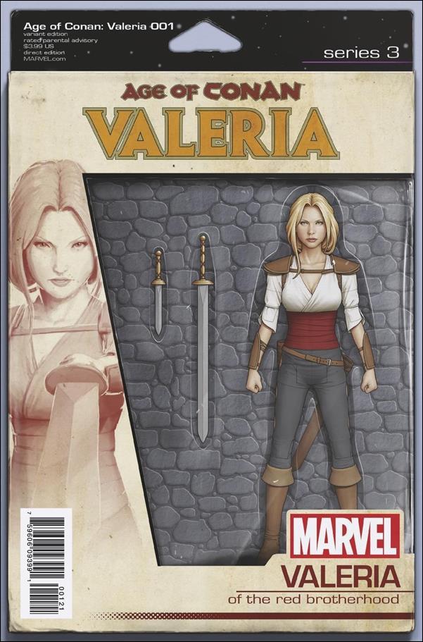 Age of Conan: Valeria 1-B by Marvel
