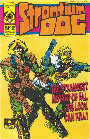 Strontium Dog (1987) 2-A by Quality Comics