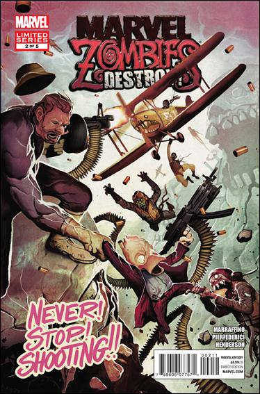 Marvel Zombies Destroy! 2-A by Marvel