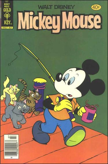 Walt Disney's Mickey Mouse 197-A by Dell
