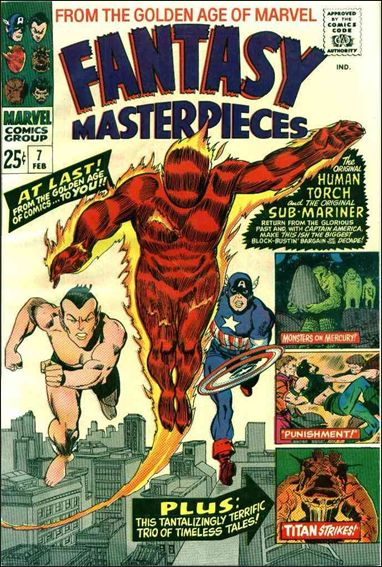 Fantasy Masterpieces (1966) 7-A by Marvel