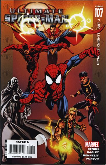 Ultimate Spider-Man (2000) 107-A by Marvel