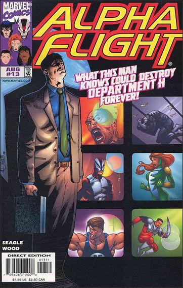 Alpha Flight (1997) 13-A by Marvel