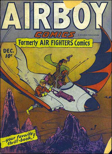 Airboy Comics (1945) 11-A by Hillman