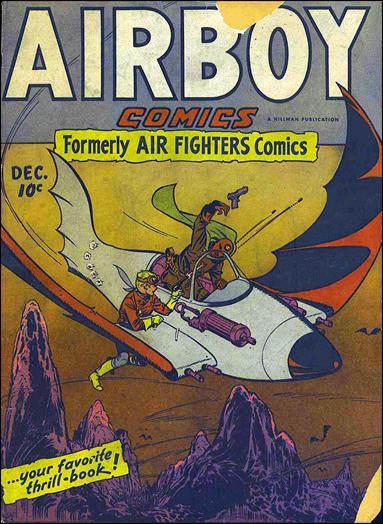 Airboy Comics (1945) 11-A by Hillman