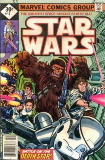 Star Wars (1977) 3-C by Marvel