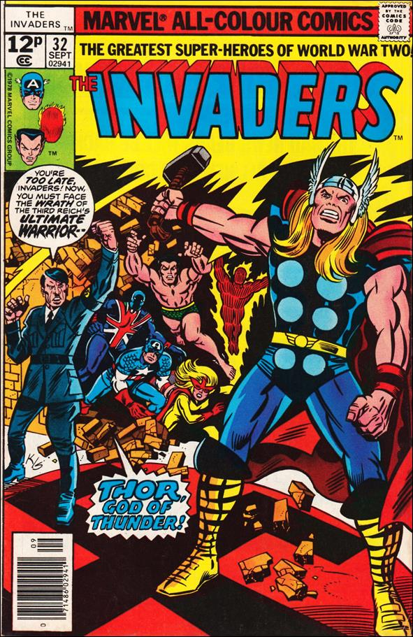 Invaders (1975) 32-B by Marvel