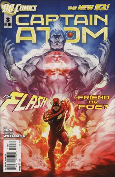 Captain Atom (2011) 3-A by DC