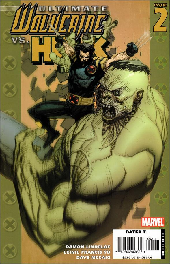 Ultimate Wolverine vs Hulk 2-A by Marvel