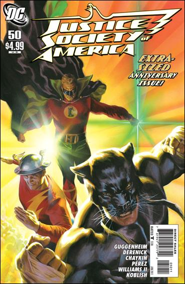 Justice Society of America (2007) 50-A by DC