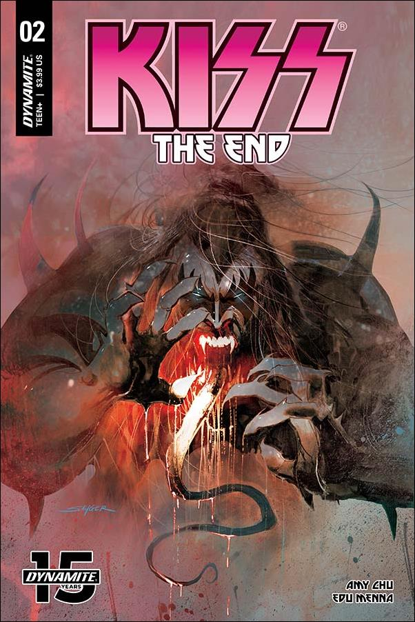 Kiss: The End 2-A by Dynamite Entertainment