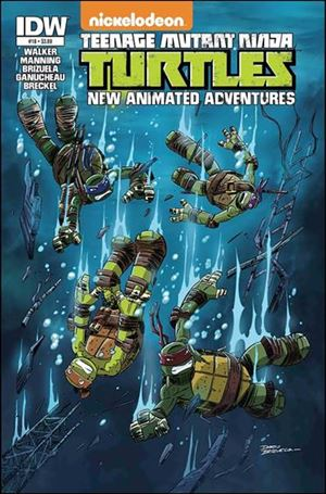Teenage Mutant Ninja Turtles New Animated Adventures 18-A