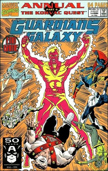 Guardians of the Galaxy Annual (1991) 1-A by Marvel