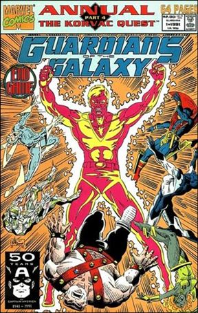 Guardians of the Galaxy Annual (1991) 1-A